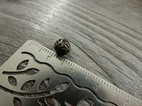 Metallihelmi filigraani, 6mm, pronssi, 20kpl