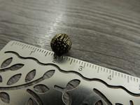 Metallihelmi filigraani, 8mm, pronssi, 20kpl