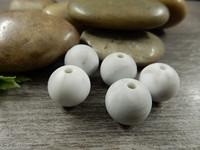 Silikonihelmi, 12mm, marmoriharmaa, 1kpl