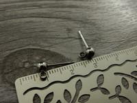 Korvakorutappi lenkillä, 4x15mm, rst, 1pari