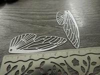 Siipiriipus, 50x20mm, valkoinen, 1kpl