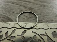 Linkki ympyrä, 20mm, umpi, rst, 1kpl
