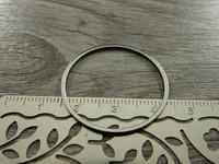 Linkki ympyrä, 30mm, umpi, rst, 1kpl