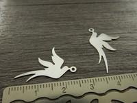 Linturiipus, 23x19mm, kirkashopea, 1kpl