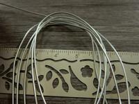 Alumiinilanka, 0.8mm, hopea, 1m