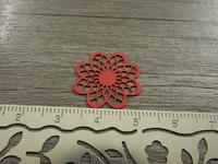 Kukkariipus, 19x20mm, punainen, 1kpl
