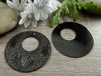 Ympyräriipus, 35mm, musta, 1kpl