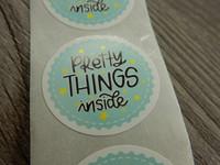 Pretty things inside tarra, 25mm, turkoosi, 10kpl