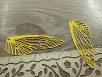 Siipiriipus, 50x20mm, keltainen, 1kpl