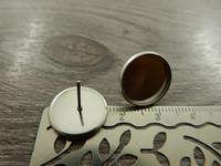 Korvakorutappi kapussille, 14mm, rst, 1pari
