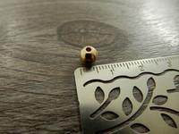 Akryylihelmi, 6mm, vaaleakulta, 20kpl