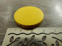 Puuhelmi, 30mm, keltainen, 1kpl