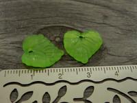 Lehtiriipus, 15x15mm, vihreä, 1kpl