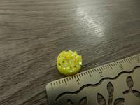Kapussi rösöpinta, 10mm, keltainen, 1kpl