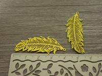 Sulkariipus, 40x14mm, keltainen, 1kpl