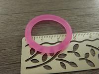 Tuttirengas, 29mm, pinkki, 1kpl