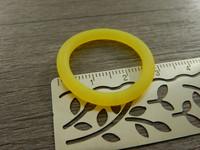 Tuttirengas, 29mm, keltainen, 1kpl