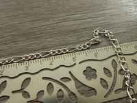 Figaroketju, 2.5x0.5mm, kirkashopea, 1m