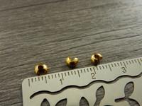 Päällyshelmi, 3mm, kulta, 20kpl