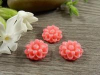 Kapussi kukka, 12mm, pinkki, 1kpl