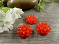 Kapussi kukka, 12mm, punainen, 1kpl