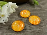 Kapussi hedelmä, 12mm, oranssi, 1kpl