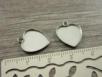 Kapussipohja sydän, 12mm, rst, 1kpl