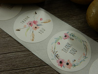 Thank you tarra, 25mm, kukkia, 10kpl