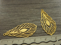 Sulkariipus, 35x11mm, kulta, 1kpl