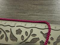 Twistketju, 3x2x0,6mm, pinkki, 1m