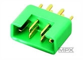 Multiplex liitin 6 pin uros (336213)
