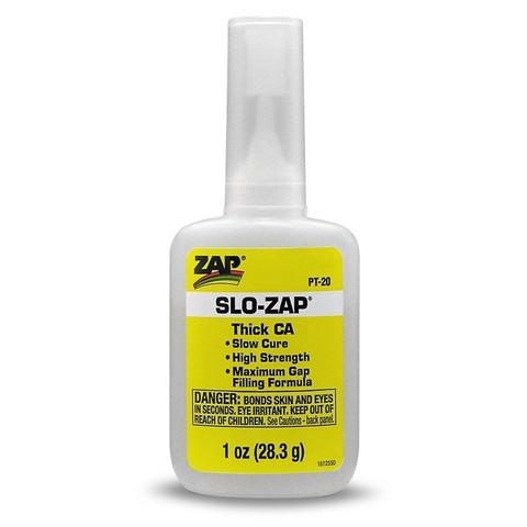 Pikaliima Zap, Slow, 28 g (Keltainen) (PT20)