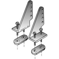 Dubro nylonhorni 27 mm (2 kpl) (105)