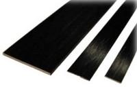 Hiilikuitulatta 1,0 × 6,0 mm (1 m)