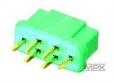 Multiplex liitin 6 pin naaras (336214)