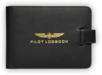 Logbook Cover, Pilot