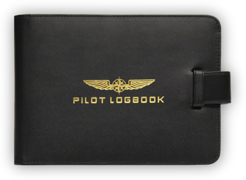 Logbook Cover, Pilot
