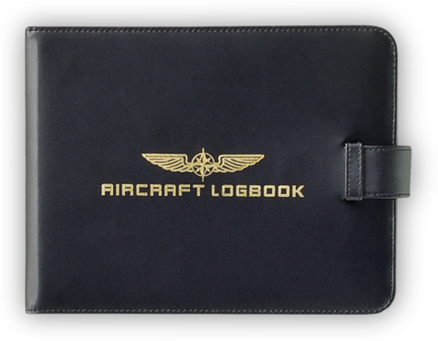 Aircraft Logbook Cover