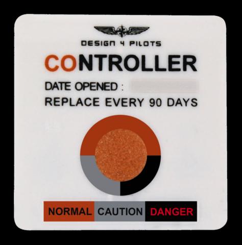 CO ilmaisin, pilot controller