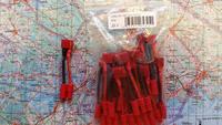 Adapterijohto Emax 3,5mm (uros) / T-liitin (naaras) 50mm (AD46736)