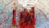 Adapterijohto Emax 3,5 (uros/naaras) / T-liitin (uros) 50mm (AD46837)