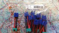 Adapterijohto EC3 (naaras) / MPX (uros) 50mm (AD43838)