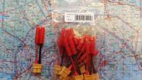 Adapterijohto Emax 4.00mm (uros) / XT-60 (naaras) 50mm (AD48730)