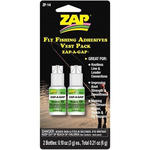 Pikaliima Zap CA Perhokalastajalle, 2 plo (ZF-14)