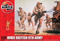 Airfix WWII British 8th Army 1:72 - A01709