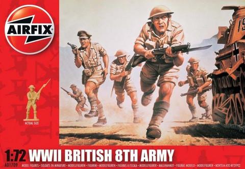 Airfix WWII British 8th Army 1:72 - A01709