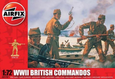 Airfix WWII British Commandos 1:72 - A01732