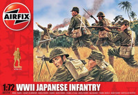 Airfix WWII Japanese Infantry 1:72 - A01718