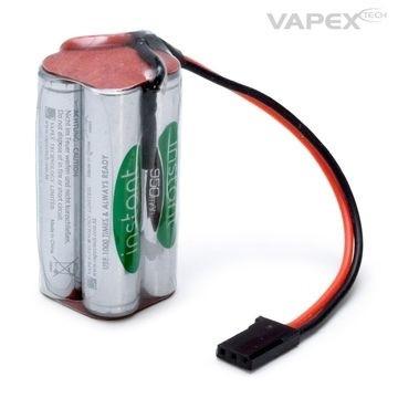 Vapex vastaanotinakku Nimh 950 mAh 4,8V cube