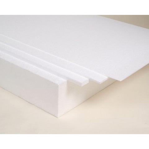 EPP-levy 800 x 600 x 15 mm, 20 g, valkoinen